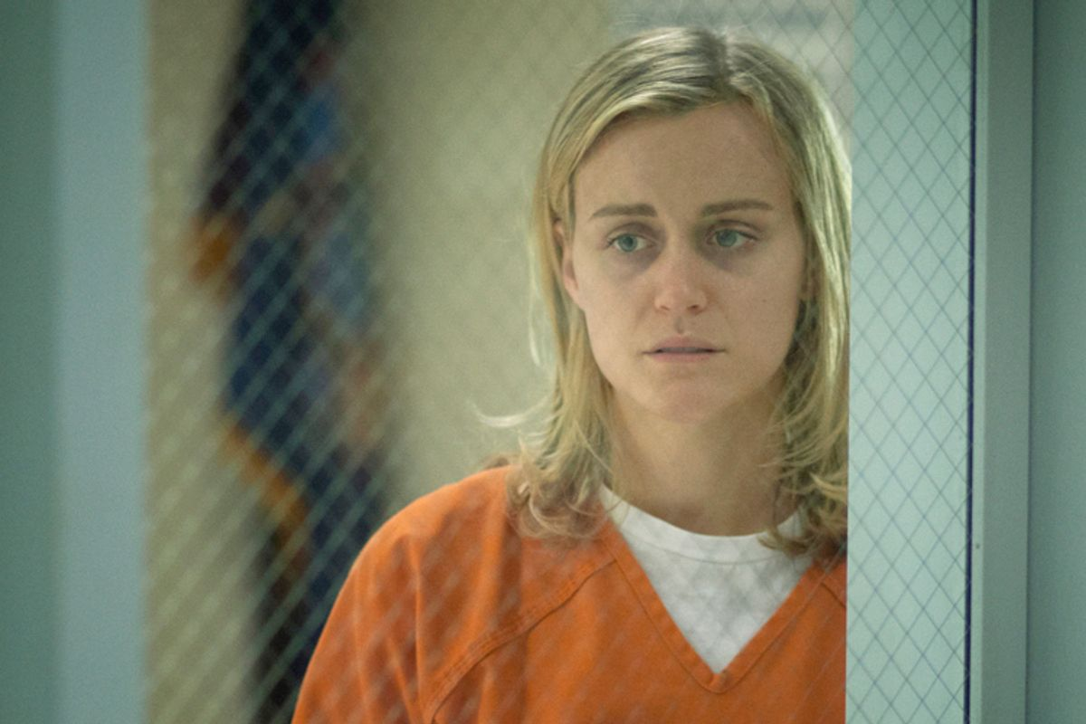 "Taylor Schilling as Piper Kerman in ""Orange Is The New Black""    (Netflix)"