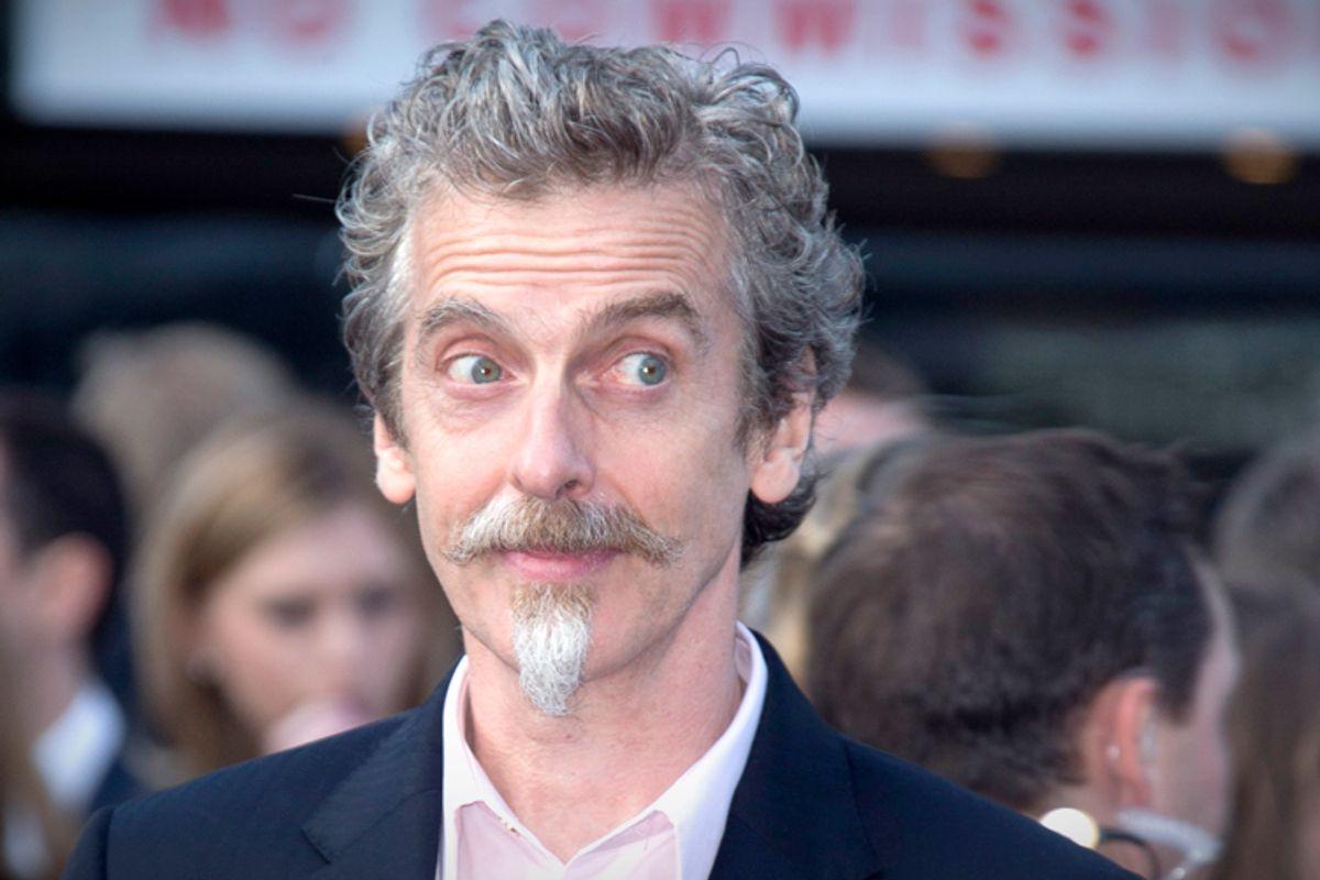 Peter Capaldi    (AP/Joel Ryan)