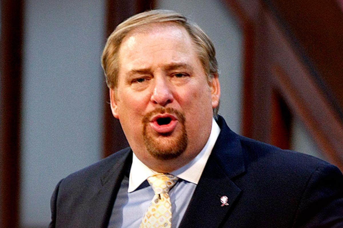 The Rev. Rick Warren       (Reuters/Tami Chappell)