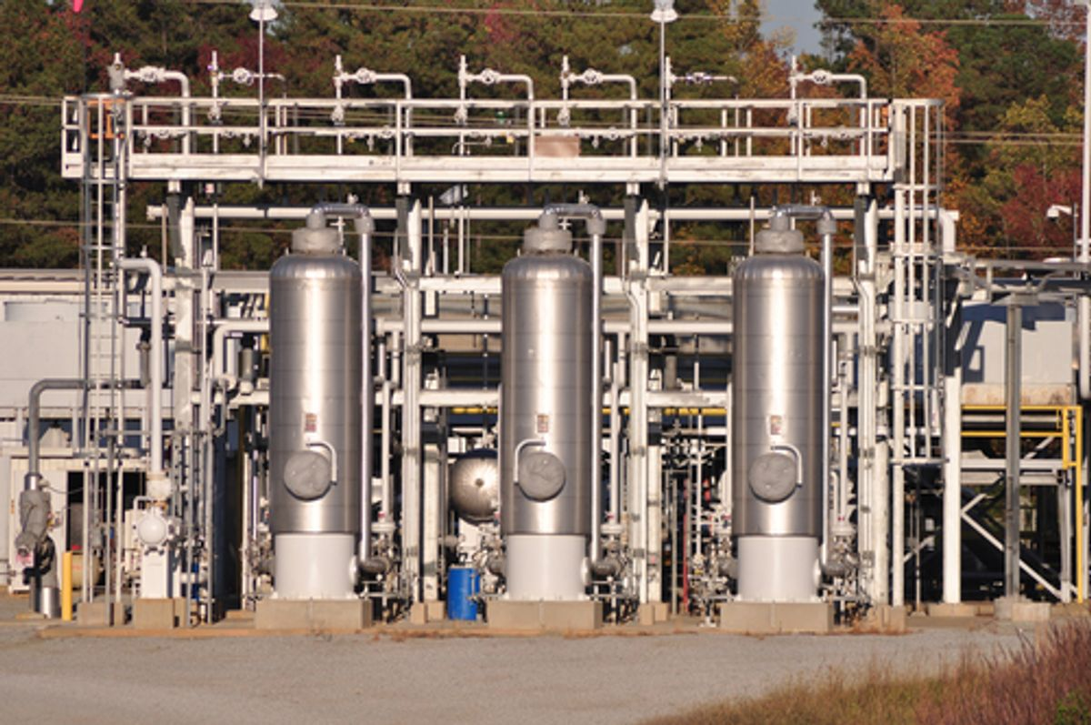 A distribution center for natural gas shipping and delivery  (Eric Krouse/Shutterstock)