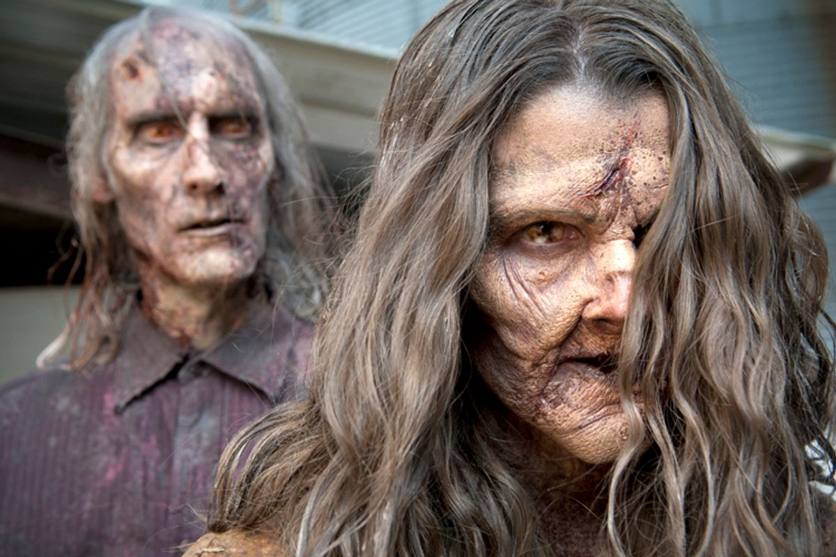 "A still from ""The Walking Dead""        (AMC/Gene Page)"