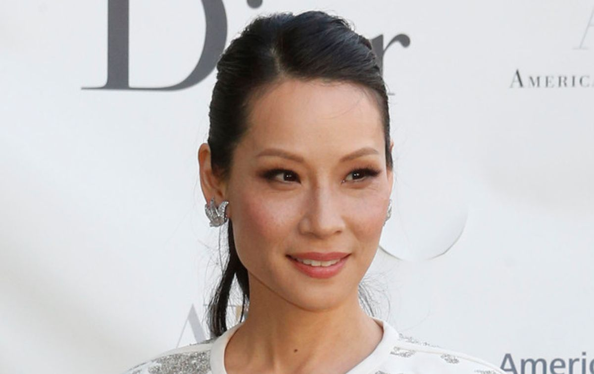Actress Lucy Liu arrives for the American Ballet Theatre Spring Gala at the Metropolitan Opera House, Monday, May 13, 2013 in New York. (Jason Decrow/invision/ap)