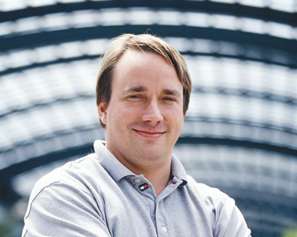 Linus Tovalds   (Wikimedia)