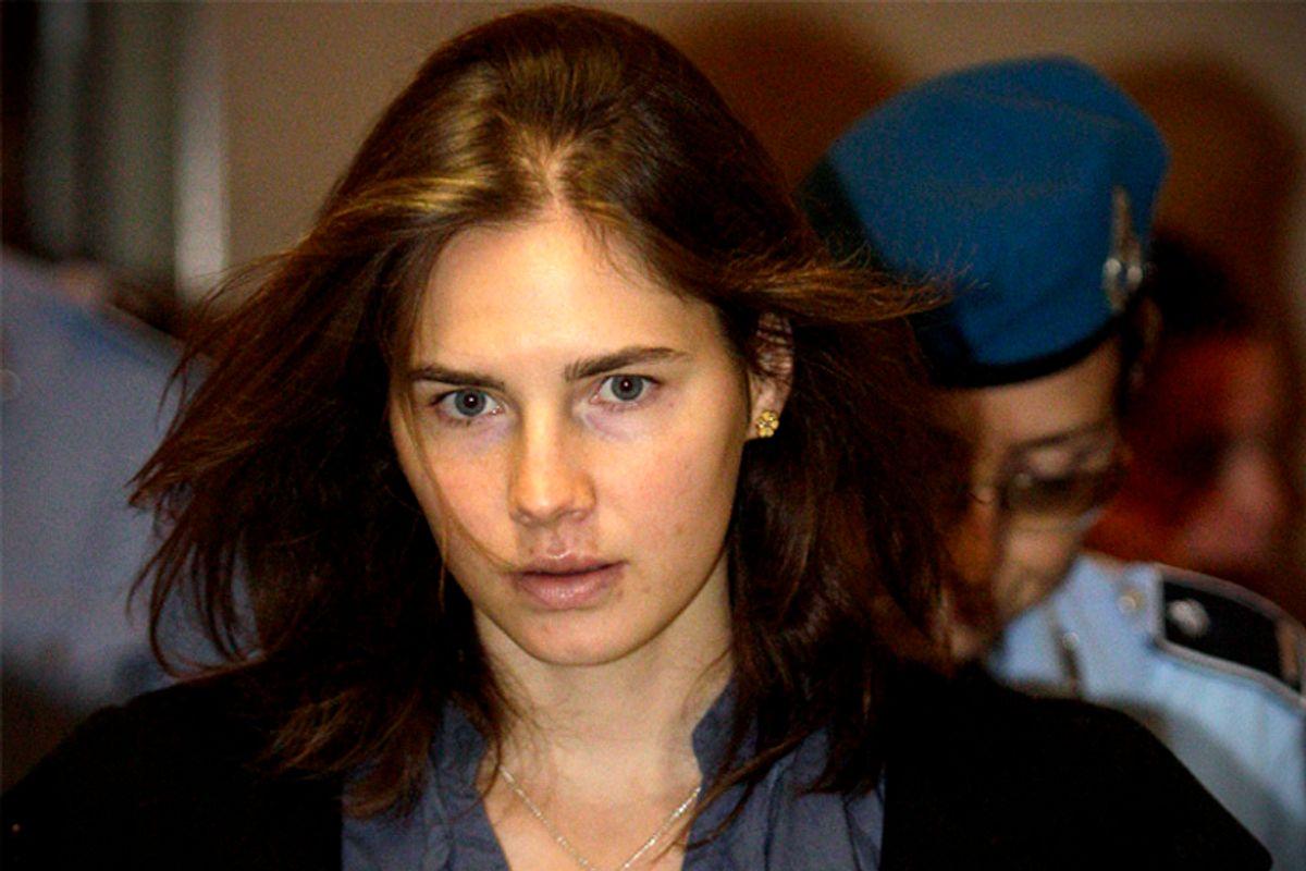 Amanda Knox        (Reuters/Alessandro Bianchi)