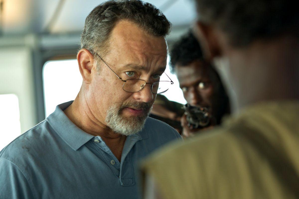 "Tom Hanks in ""Captain Phillips.""     (Columbia Pictures)"