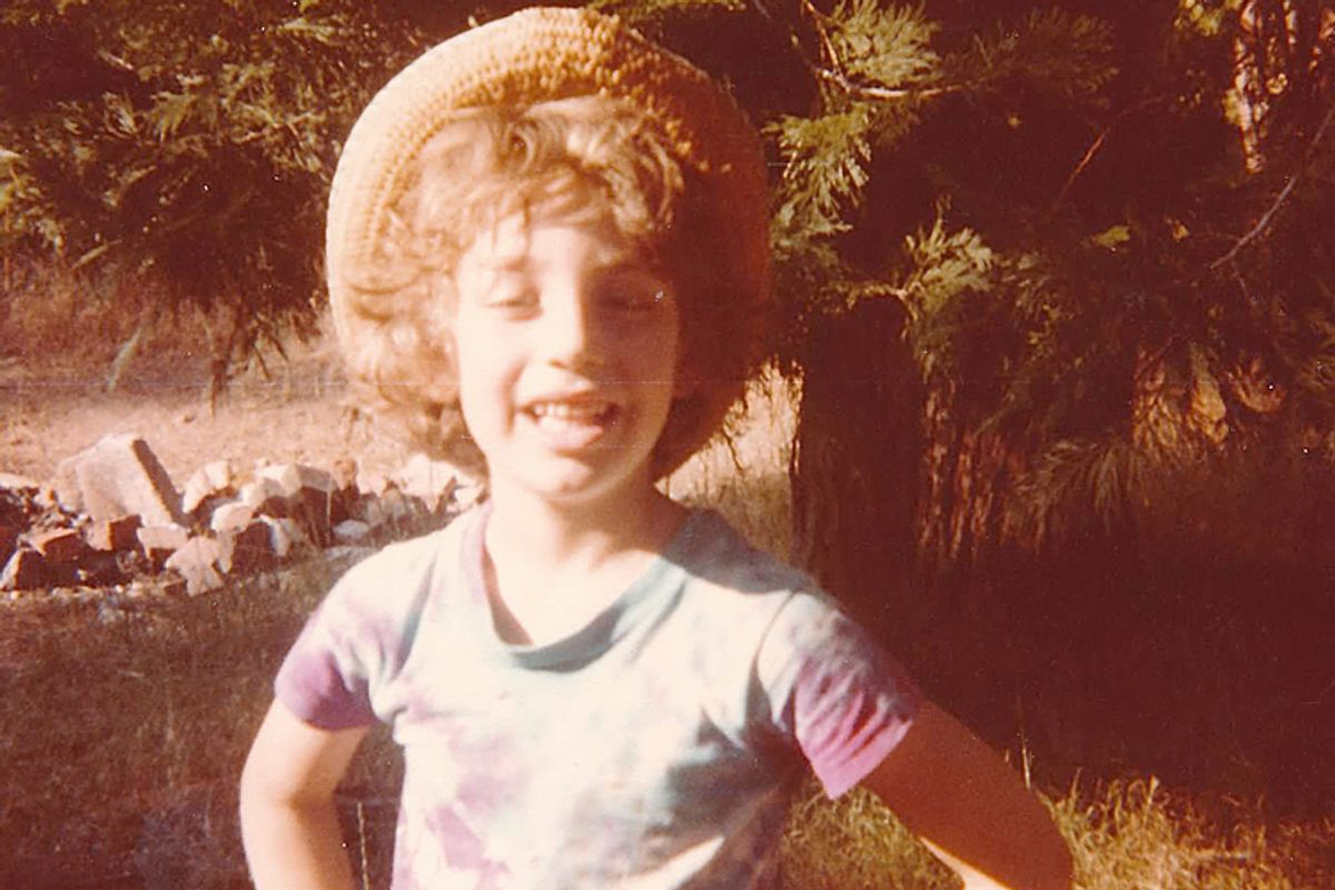 A photo of the author as a boy