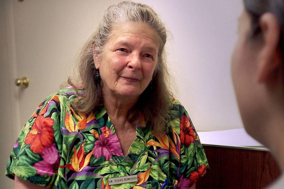 """Dr. Susan Robinson in """"After Tiller"""""""