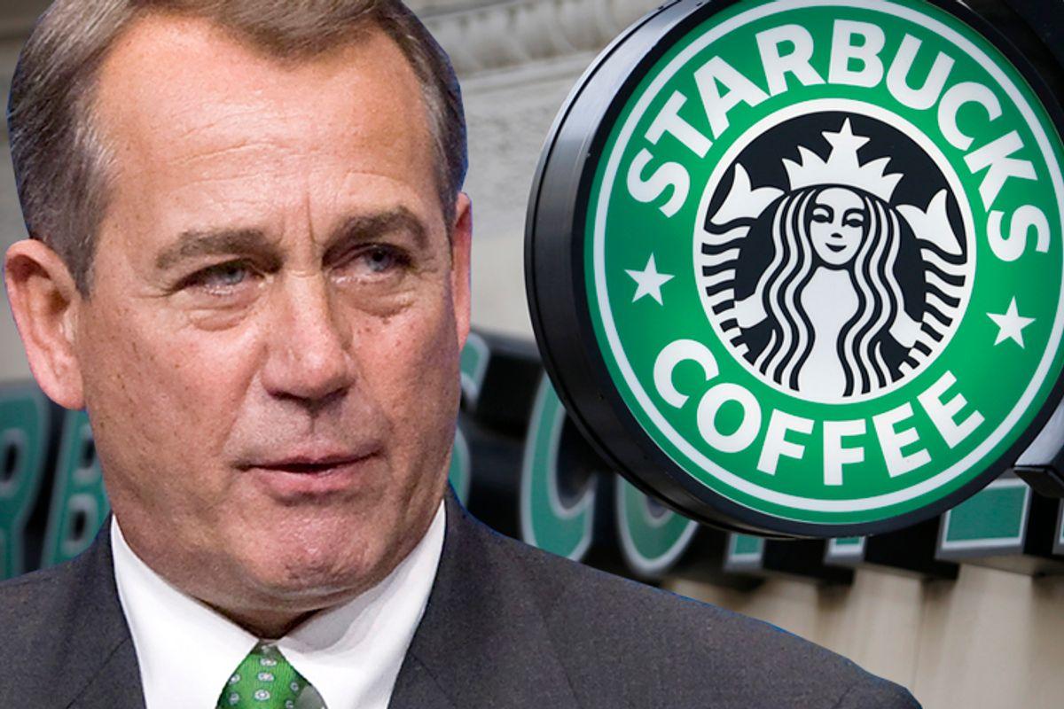 John Boehner                                   (Reuters/Jonathan Ernst/Andrew Winning)