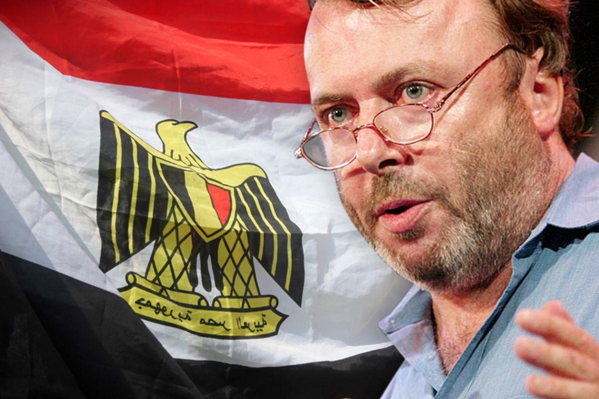 Christopher Hitchens           (Reuters/Shannon Stapleton/Mohamed Abd El Ghany)