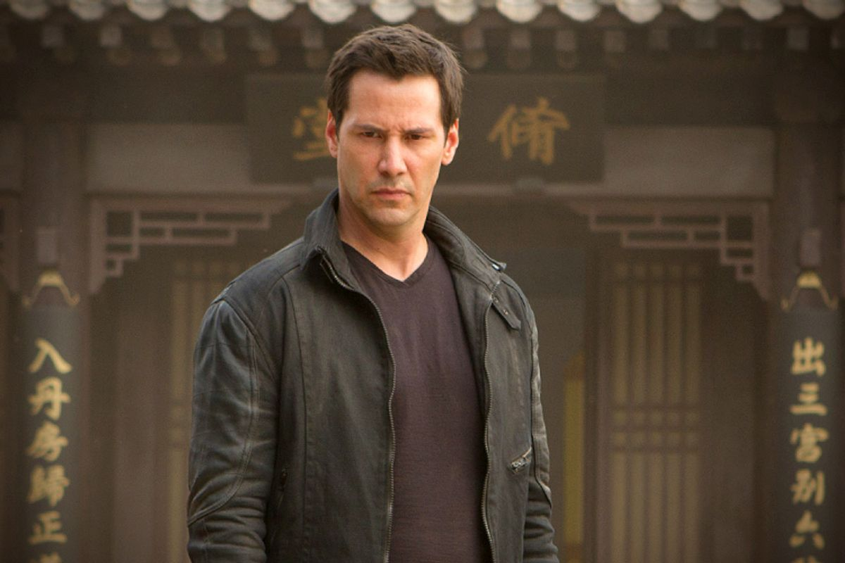 "Keanu Reeves in ""Man of Tai Chi"""