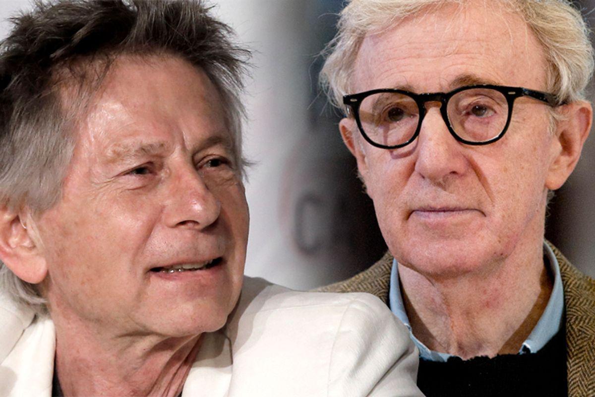 Roman Polanski, Woody Allen    (Reuters/Jean-paul Pelissier/AP/Andrew Medichini)