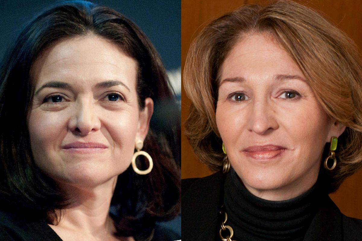 Sheryl Sandberg, Anne-Marie Slaughter (Denise Applewhite)