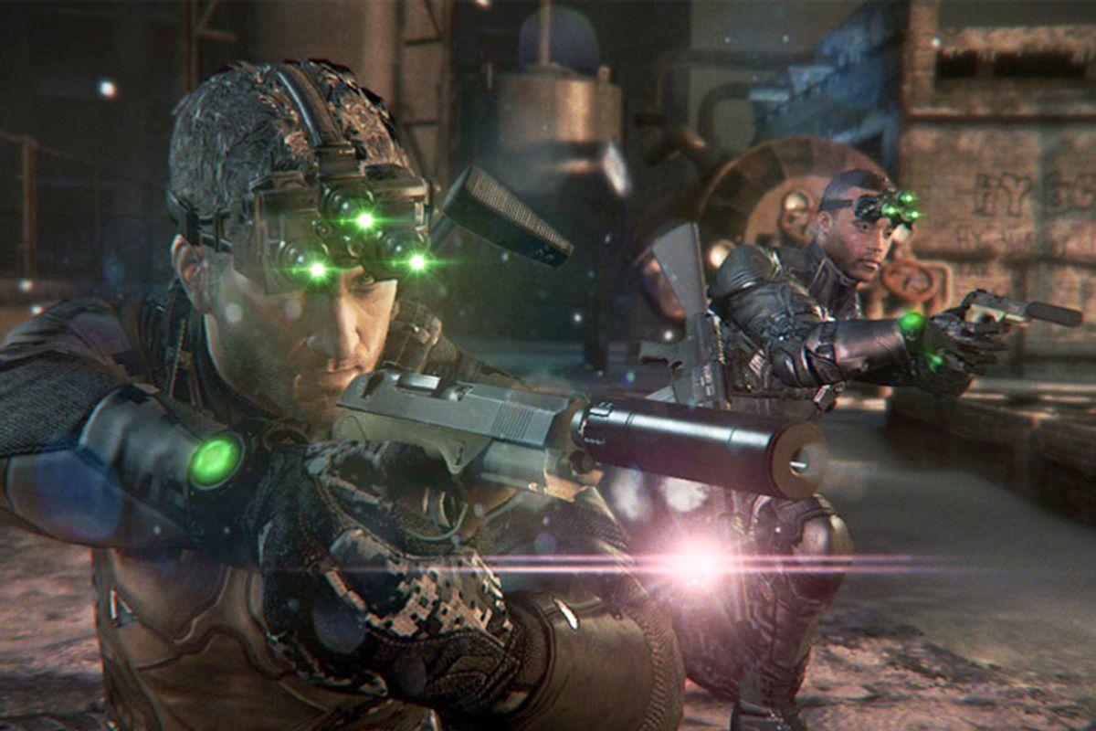 "Screen from ""Splinter Cell Blacklist""   (Ubisoft)"