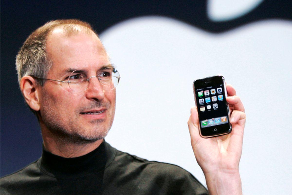 Steve Jobs                   (AP/Paul Sakuma)