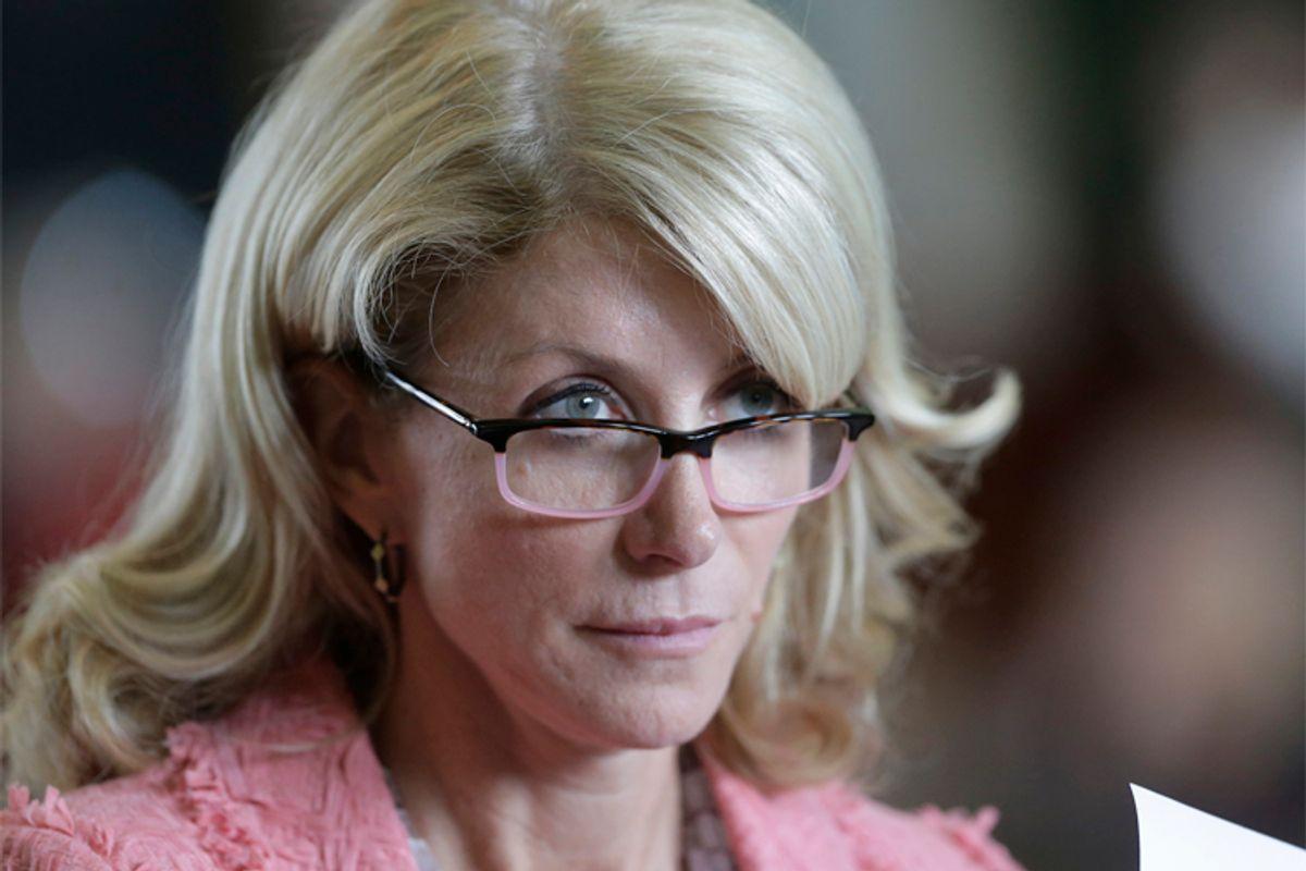 Wendy Davis                   (AP/Eric Gay)
