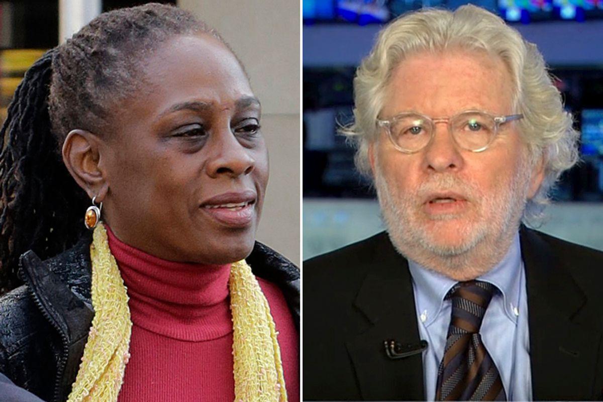 Chirlane McCray, Richard Cohen     (AP/Mark Lennihan/CNN)