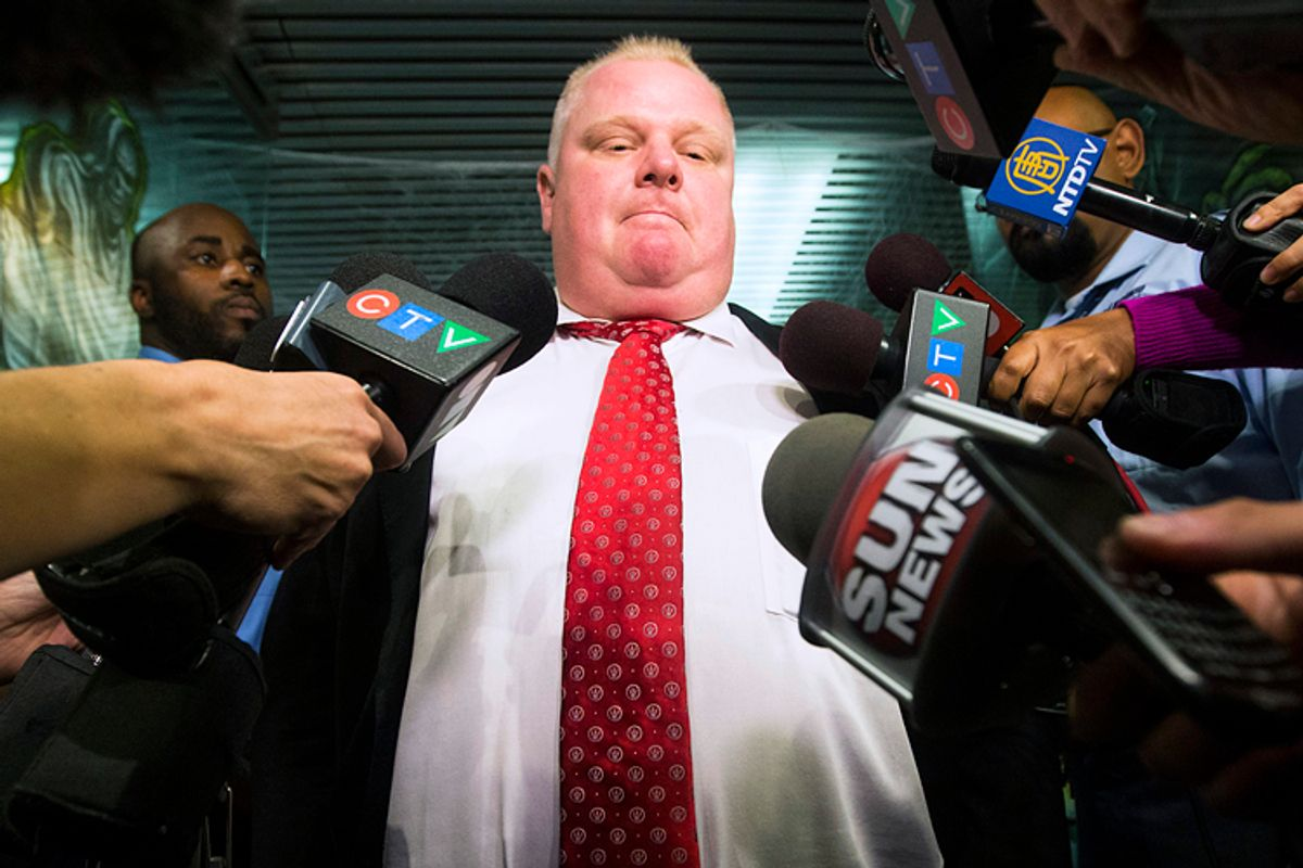 Rob Ford        (Reuters/Mark Blinch)