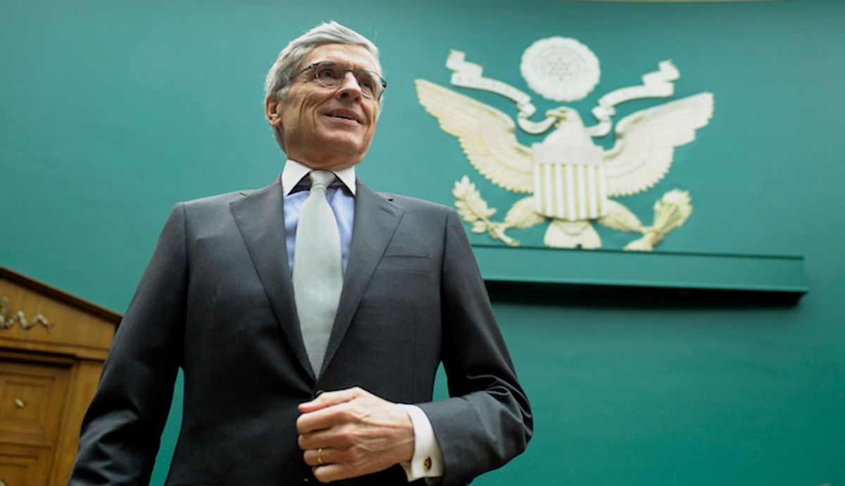 Federal Communications Commission (FCC) Chairman Tom Wheeler     (AP/Susan Walsh)