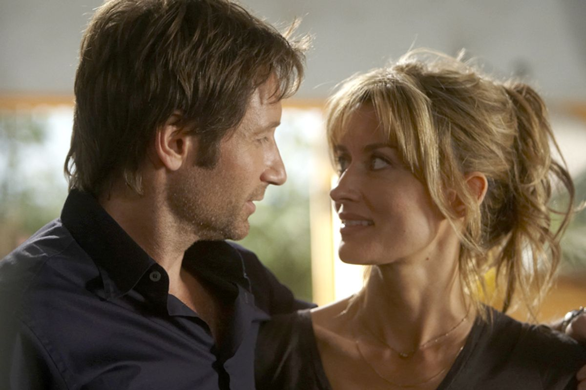 """David Duchovny and Natascha McElhone in """"Californication"""""""