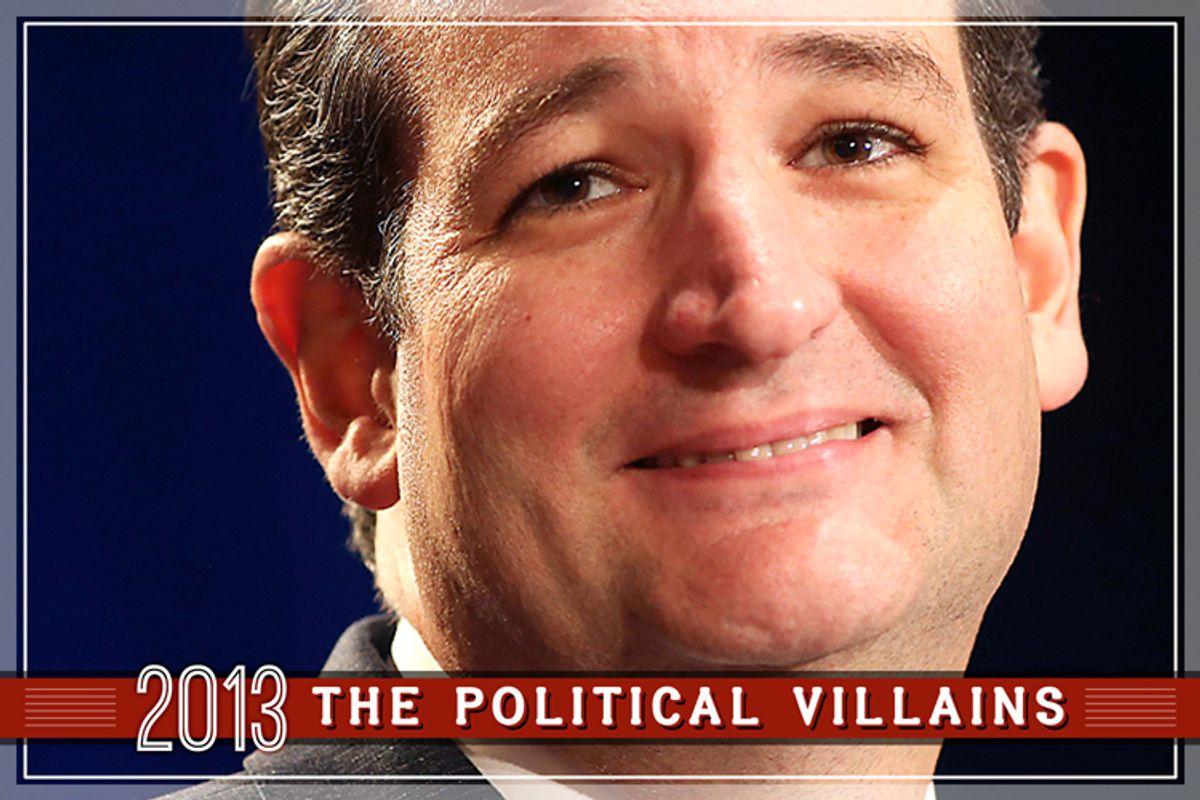 Ted Cruz    (Reuters/Joe Mitchell/Salon)