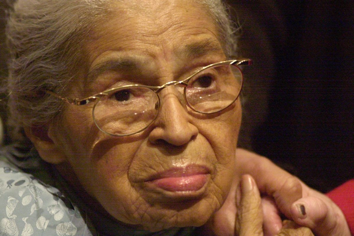 Rosa Parks    (AP/Paul Warner)