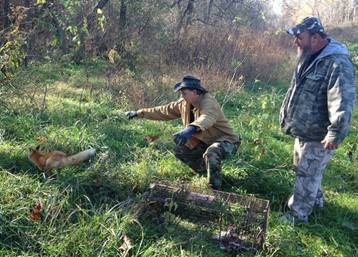 """Scene from Animal Planet's """"Call of the Wildman""""  (Discovery Communications)"""