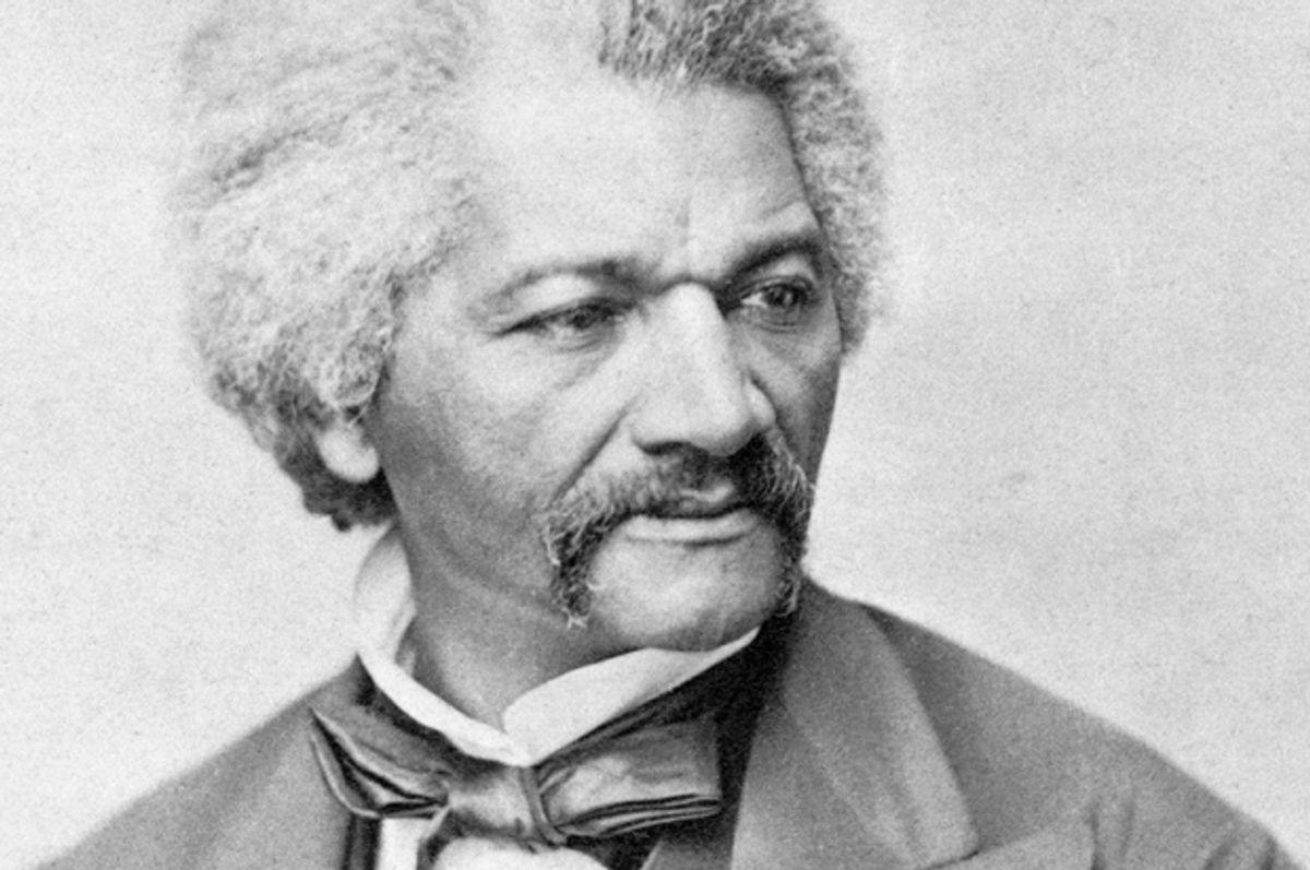 Frederick Douglass    (Wikimedia)