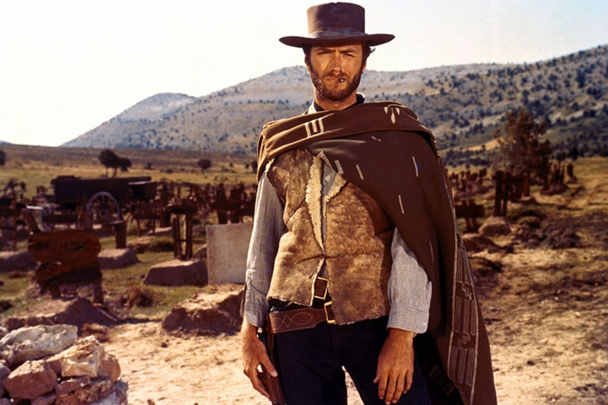 """Clint Eastwood in """"The Good, the Bad and the Ugly"""""""