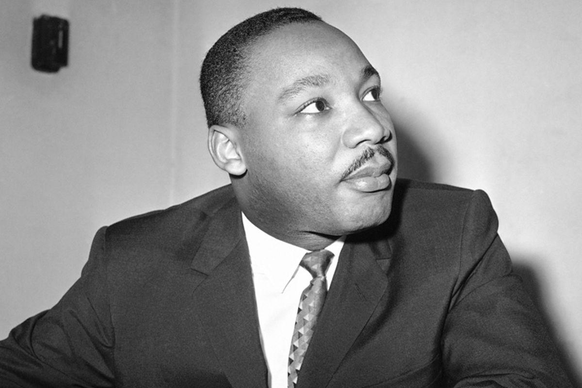 Martin Luther King, Jr.           (AP/Bill Ingraham)