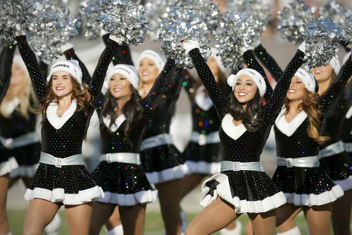 Oakland Raiders cheerleaders     (AP/Ben Margot)