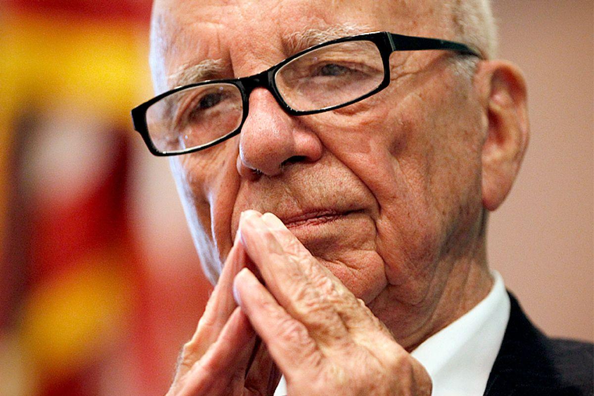 Rupert Murdoch                  (Reuters/Jessica Rinaldi)