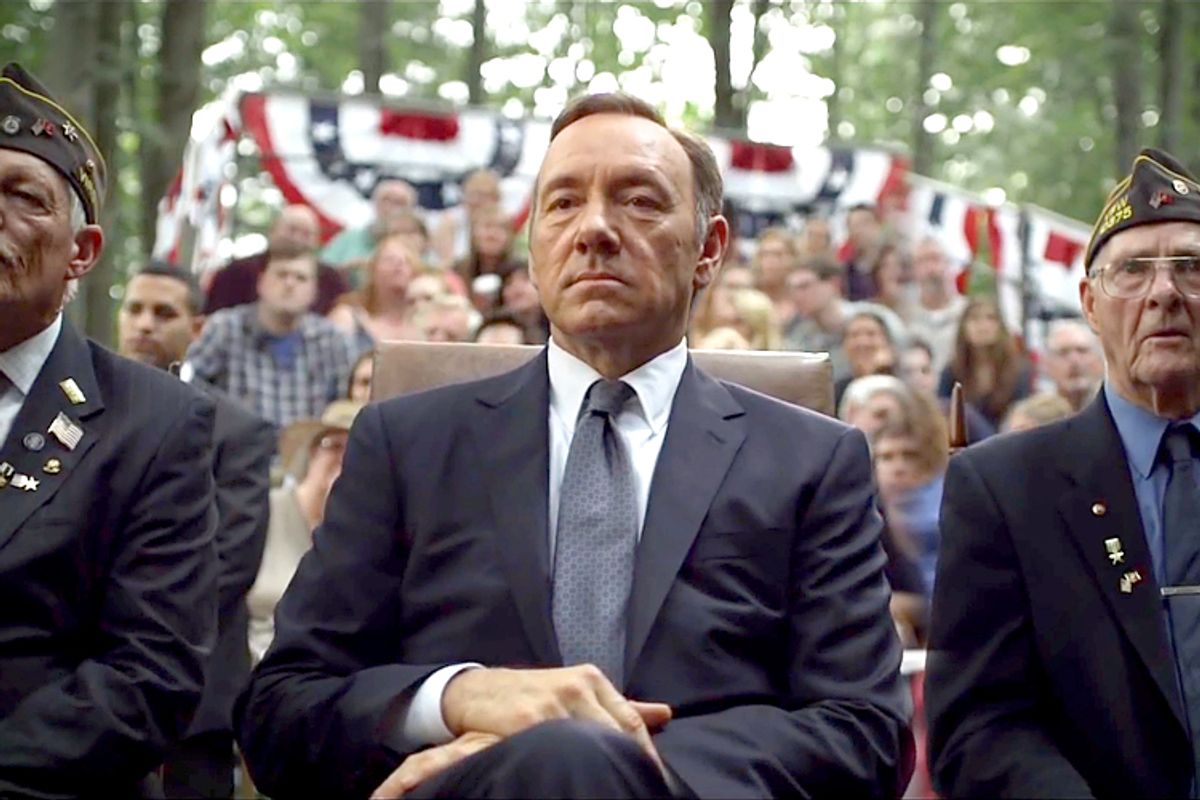 """Kevin Spacey in """"House of Cards""""             (Netflix)"""