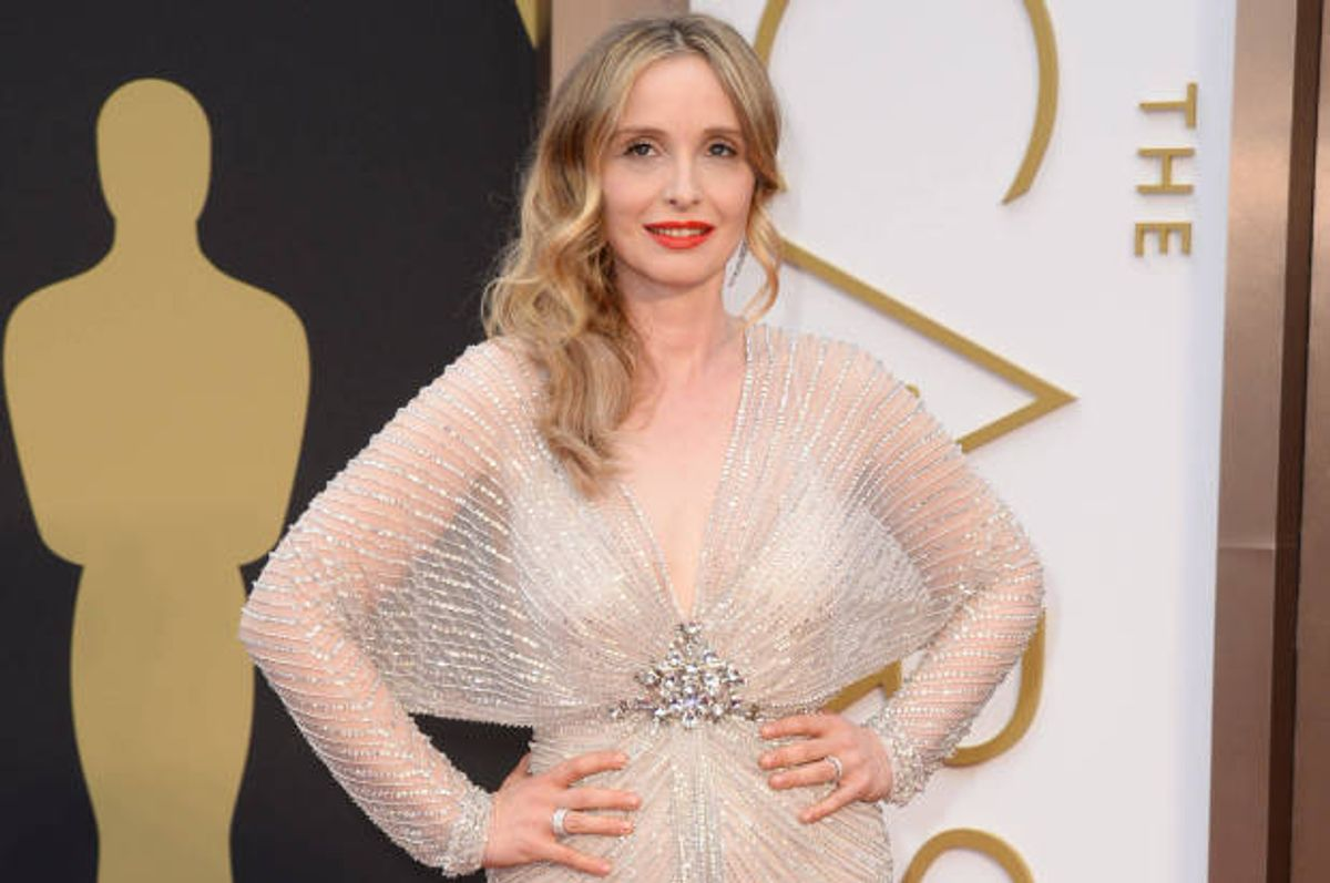 Julie Delpy at the 2014 Oscars ceremony (Jordan Strauss/invision/ap)