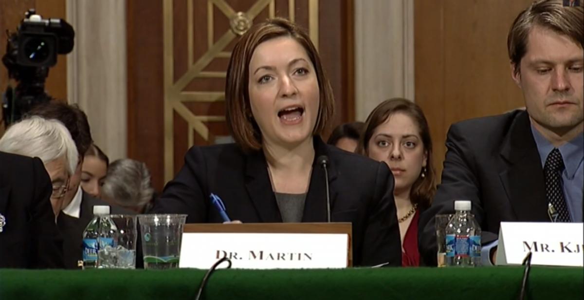 "Dr. Danielle Martin   (<a href=""http://youtu.be/iYOf6hXGx6M"">screen shot</a>)"