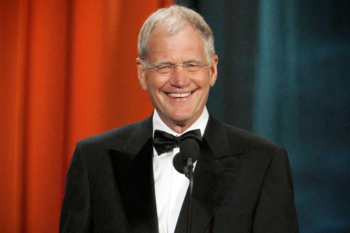 David Letterman   (Reuters/Jessica Rinaldi)