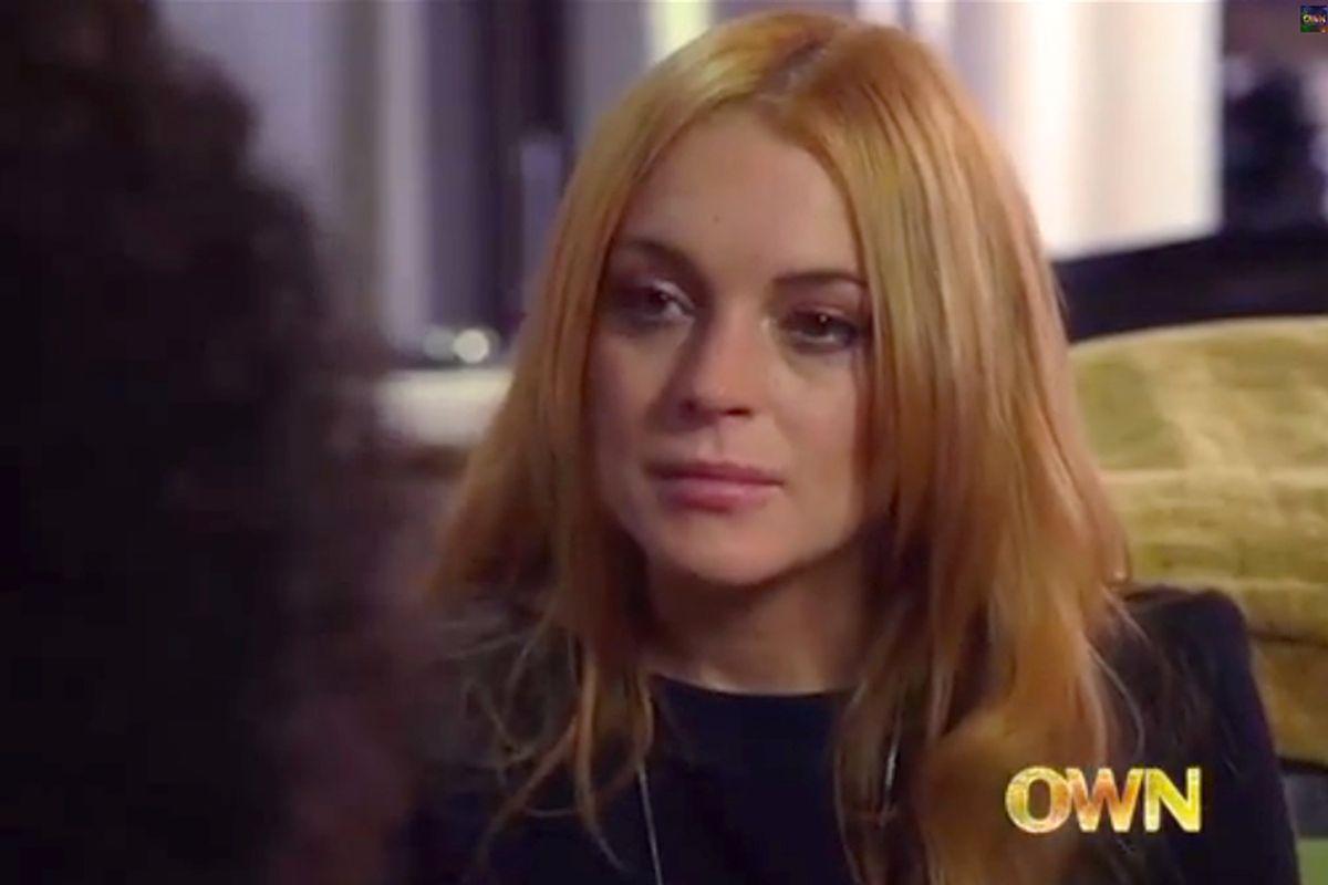 Lindsay Lohan     (OWN)