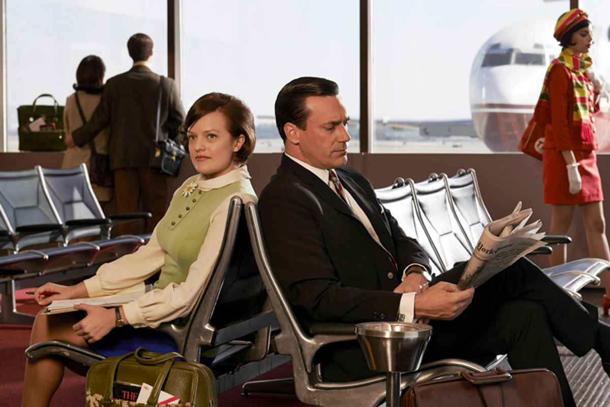 "Elisabeth Moss and Jon Hamm of ""Mad Men""                    (AMC/Frank Ockenfels 3)"