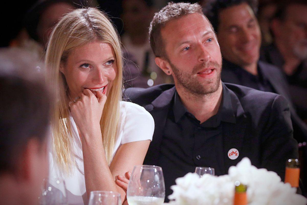 Gwyneth Paltrow, Chris Martin        (AP/Colin Young-wolff)