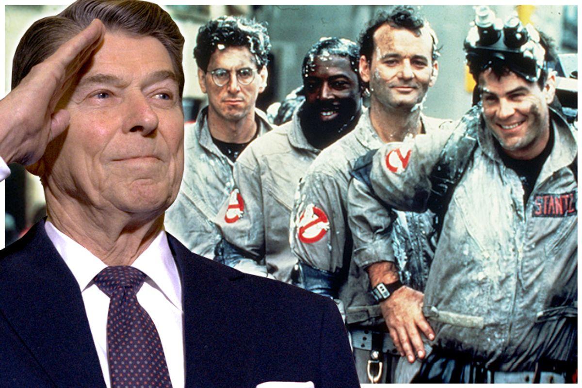 Ronald Reagan, ghostbusters          (AP)