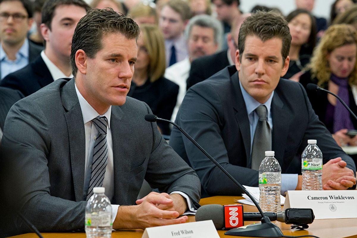Cameron and Tyler Winklevoss       (AP/Craig Ruttle)