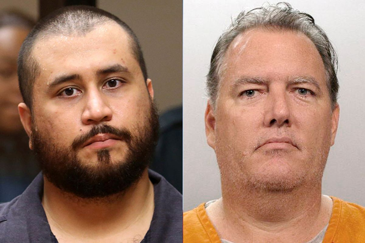 George Zimmerman, Michael Dunn        (Reuters/Joe Burbank)