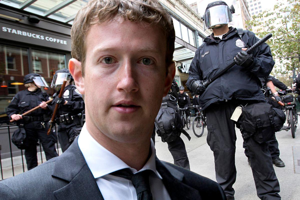Mark Zuckerberg                     (AP/Alexander Zemlianichenko/Reuters/Anthony Bolante/Photo collage by Salon)