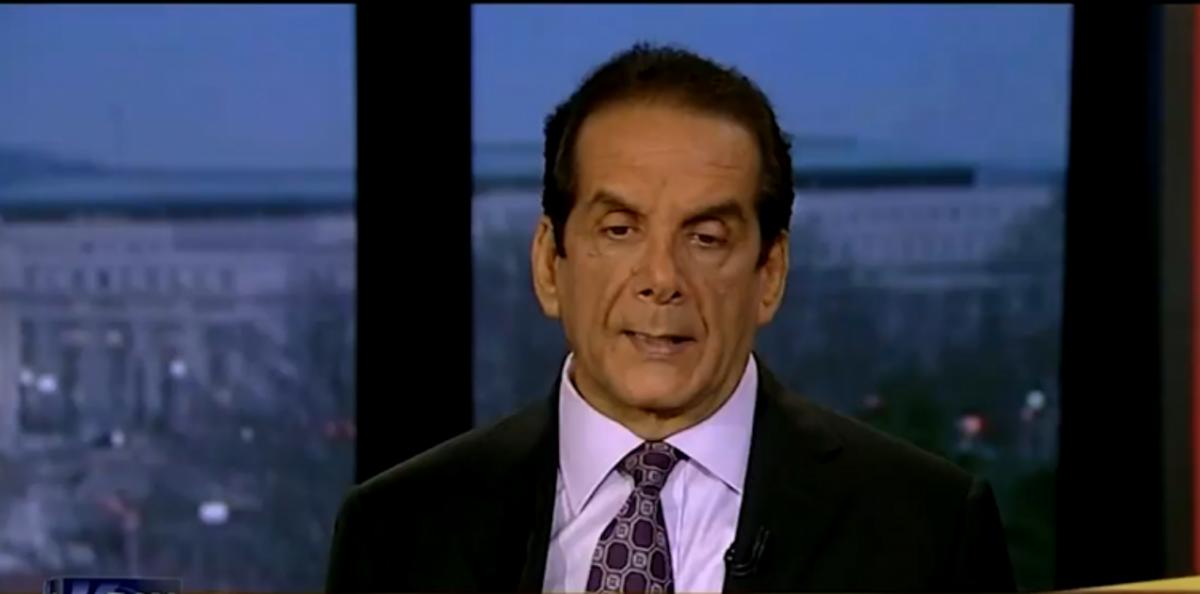 Charles Krauthammer (Screen shot, POLITICO)