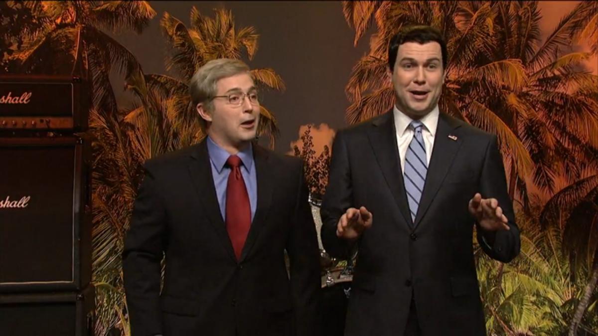 Beck Bennett and Taran Killam  (Screen shot, Saturday Night Live)