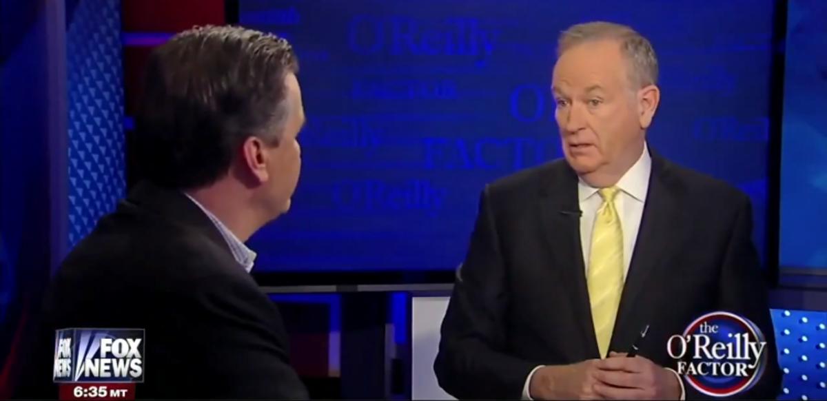 John Calipari and Bill O'Reilly    (Screen shot, Fox News)