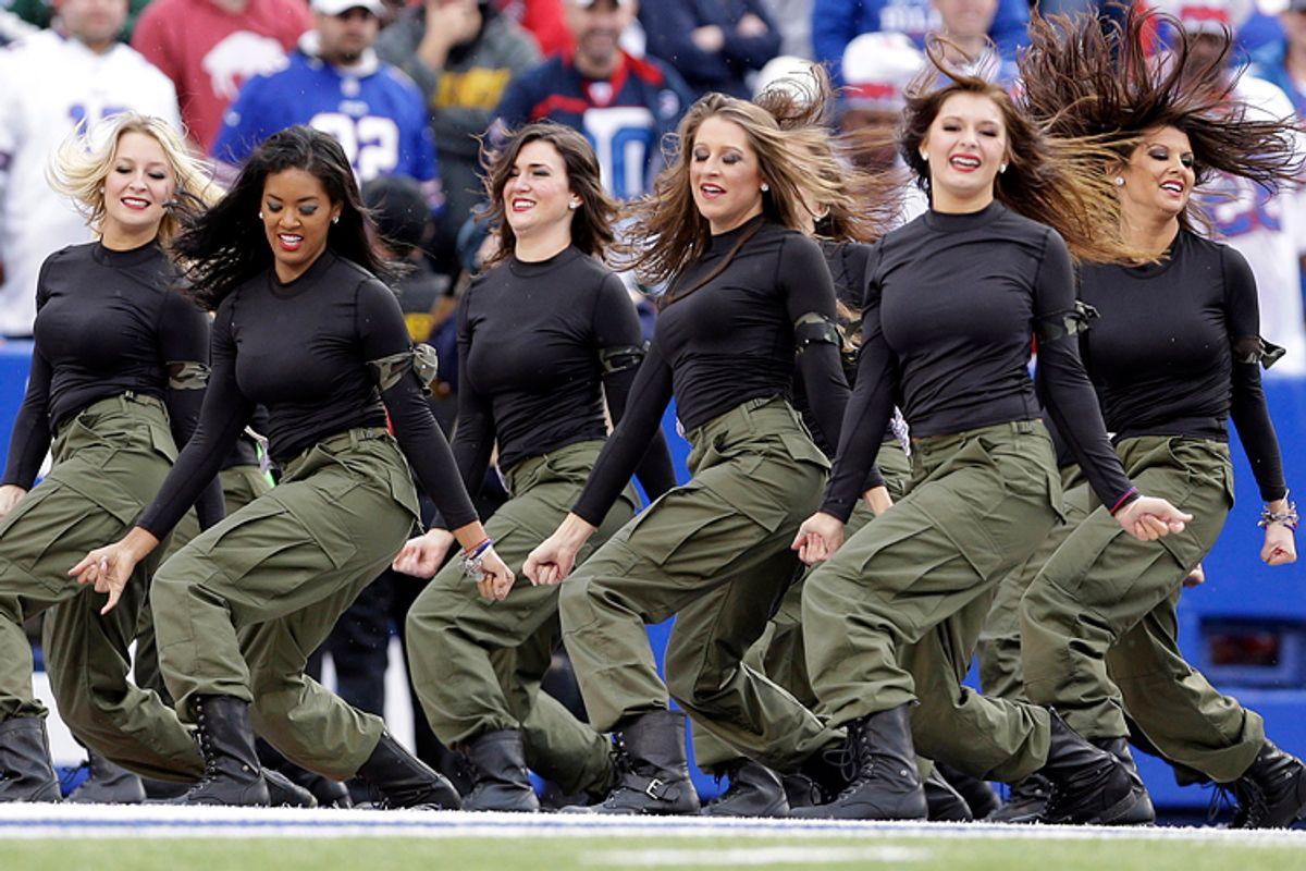 Buffalo Bills cheerleaders          (AP/Heather Ainsworth)