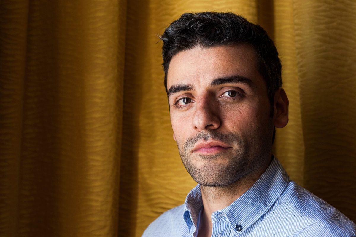 """FILE - In this May 20, 2013 file photo, actor Oscar Isaac poses for portraits at the 66th international film festival, in Cannes, southern France. The cast of """"Star Wars: Episode VII"""" was announced Tuesday, Aril 29, 2014, on the official """"Star Wars"""" website by Lucasfilm. Actors Adam Driver, Max von Sydow, John Boyega, Daisy Ridley, Domhnall Gleeson and Isaac will be joining the cast. (AP Photo/Laurent Emmanuel, File) (AP)"""