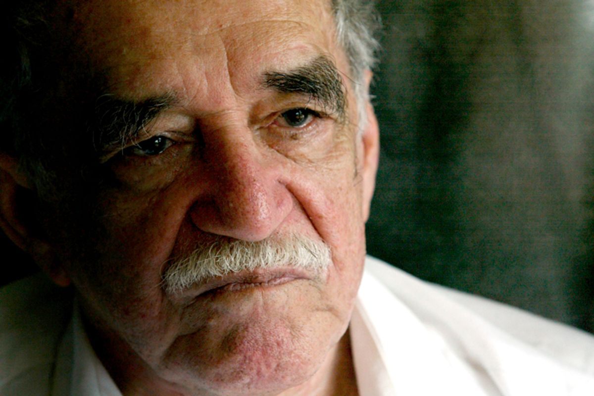 Gabriel Garcia Marquez       (Reuters/Fredy Builes)