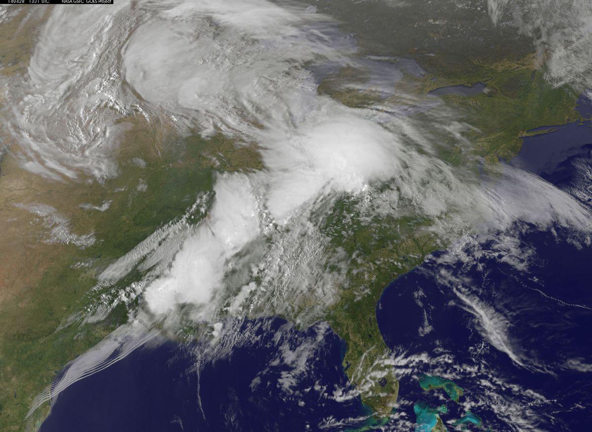 (NASA/NOAA GOES Project)