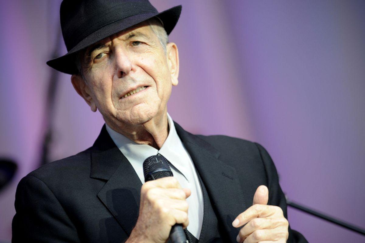 Leonard Cohen     (AP/Kai-uwe Knoth)